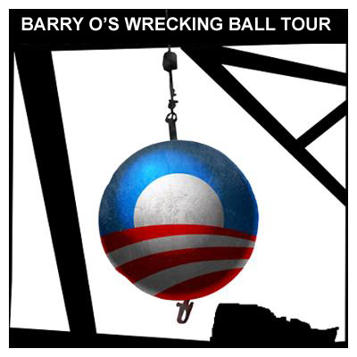 Obama Wrecking Ball